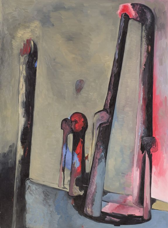 Boat No. 2 · 1994 · oil on paper · 30 × 22″